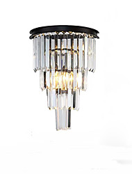 cheap -Crystal Modern Wall Lamps & Sconces Bedroom / Shops / Cafes Crystal Wall Light 110-120V / 220-240V 5 W
