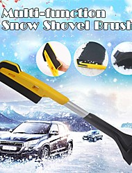 cheap -Car EVA Snow Shovel Multifunctional Snow Shovel Long Rod Deicing Ice Sweep Tool Snow Removal Brush For Winter Car Accessories