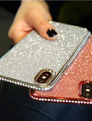 cheap -Phone Case For Apple Back Cover iPhone 12 Pro Max 11 SE 2020 X XR XS Max 8 7 6 Rhinestone Ultra-thin Glitter Shine Glitter Shine TPU