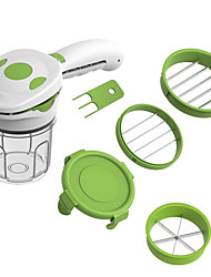 cheap -6 in 1 Magic Nicer Quick Stainless Steel Vegetable Dicer Chopper 5 in 1 Multi-Functional Kitchen Onion Vegetable Cutter Slicer