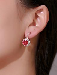 cheap -Women's Drop Earrings Hoop Earrings Earrings Marquise Cut Ball Earrings Jewelry Black / White / Purple For Engagement Daily Work Bar Festival