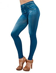 cheap -Women's Street chic Chinos Pants - Solid Colored Black Blue Gray S L XXL