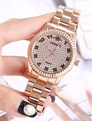 cheap -MEGIR Men's Dress Watch Quartz Formal Style Modern Style Casual Watch Large Dial Analog Casual Fashion - Black Golden+Silver Rose Gold