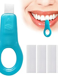 abordables -5pcs / pack kits de blanchiment des dents Nano tube nettoyage des dents blanchissant les taches de dents enlever les bandes de taches oral nettoyage en profondeur