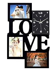 cheap -Photo Frame Wall Clock New DIY Modern Desigh Art Picture Clock Living Room Home Decor Horloge