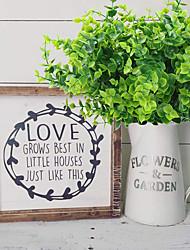 abordables -plante artificielle adaptée pour ferme maison jardin bureau cour mariage et décoration intérieure et extérieure 3 bâtons