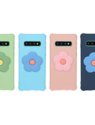 cheap -Case for Samsung scene map Samsung Galaxy S10 S10 Lite S10 Plus A10 A20 The New 3D stereoscopic Patch candy color Frosted TPU Texture Four corners Anti-fall All-inclusive phone case Aoke