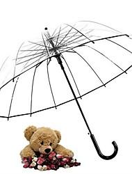 cheap -Plastic All Sunny and Rainy Straight Umbrella