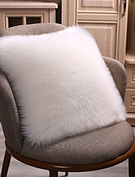 cheap -Set of 1 Velvet Pillow Cover & Insert, Solid Colored Throw Pillow