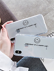 cheap -Case For Apple iPhone 11 / iPhone 11 Pro / iPhone 11 Pro Max Shockproof / Transparent Back Cover Word / Phrase TPU