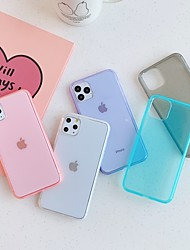 cheap -Case for Apple scene map iPhone 11 X XS XR XS Max 8 fruit color translucent TPU material soft case