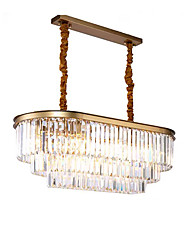 cheap -QIHengZhaoMing 8-Light 40 cm Chandelier Metal Modern 110-120V / 220-240V