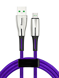 cheap -Baseus Waterdrop Cable USB For Micro 4A 2m Black