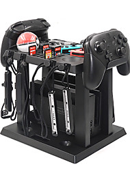cheap -For Nintend Switch Charging Duck Station Games Disc Storage Base Controller Charger Holder Stand For Nintendo Switch Accessories
