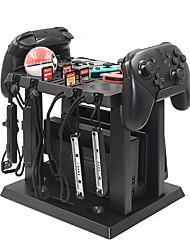 abordables -pour nintend interrupteur de charge station de canard jeux disque base de stockage contrôleur contrôleur chargeur support stand pour nintendo commutateur accessoires