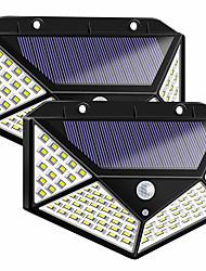 cheap -LED Solar Infrared Sensor Wall Lamp Street Lamp Outdoor Garden New Courtyard Lights