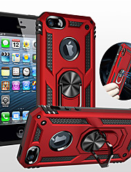 cheap -Case For Apple iPhone 11 / iPhone 11 Pro / iPhone 11 Pro Max Shockproof / Ring Holder Full Body Cases Armor PC