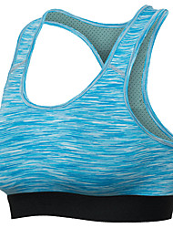 cheap -Women's Sports Bra Top Sports Bra Bra Top Cross Back Running Fitness Jogging Breathable Quick Dry Freedom Padded Light Support Black Blue Solid Colored