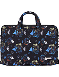 cheap -13.3 Inch Laptop / 14 Inch Laptop / 15.6 Inch Laptop Shoulder Messenger Bag / Briefcase Handbags Polyester Animal / Fish for Men for Women for Business Office Water Proof Shock Proof