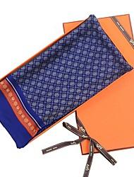 Недорогие -Муж. Классический Прямоугольный платок Контрастных цветов