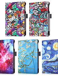 cheap -Case For Apple iPad Air 2 / iPad Pro 9.7'' Card Holder Full Body Cases Scenery / Cartoon PU Leather