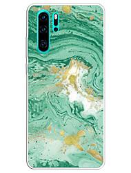 Недорогие -чехол для huawei карта сцены p30 p30 pro p30 lite цветной мраморный рисунок лак с тиснением материал тпу все включено чехол для мобильного телефона hc