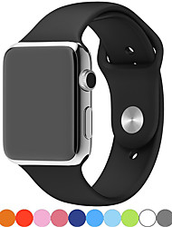 cheap -Smartwatch Band for Apple Watch Series 5/4/3/2/1 Apple Sport Band Fashion Soft Comfortable Silicone Wrist Strap