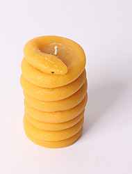 cheap -Snake Shaped Candle Silicone Mold DIY Hand-made Fragrant Candle Molds