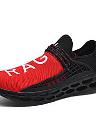 cheap -Men's Comfort Shoes Tissage Volant Spring & Summer / Fall & Winter Sporty / Casual Athletic Shoes Running Shoes / Walking Shoes Non-slipping Black / White / Black / Red / White / Blue