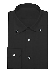 cheap -Black Oxford Button Down Shirt