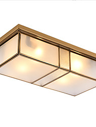 cheap -2-Light Novelty Flush Mount Lights Ambient Light Brass Copper 220-240V