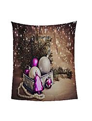 Недорогие -фиолетовое рождество зимнее одеяло готовый полиэстер мягкая теплая фланелевая шерсть