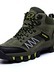 cheap -Men's Comfort Shoes PU Winter Athletic Shoes Hiking Shoes Brown / Army Green / Gray