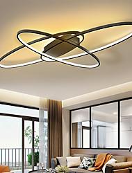 cheap -92 cm Geometric Shapes Flush Mount Lights Metal Linear Painted Finishes LED Modern 220-240V