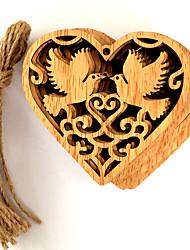 Недорогие -Орнаменты деревянный 10 шт. Свадебные прием