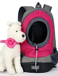 cheap -Carrier & Travel Backpack Dog Clothes Portable Blue Rose Costume Sports American Style S M