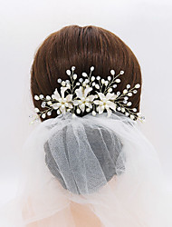 cheap -Alloy Hair Combs / Headdress with Rhinestone / Imitation Pearl 1 Piece Wedding / Special Occasion Headpiece