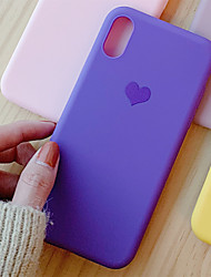 cheap -Case for Apple scene map iPhone 11 X XS XR XS Max 8 Small fresh Love pattern Simple Frosted TPU All-inclusive phone case Tongxin