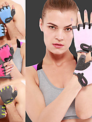 cheap -AOLIKES Workout Gloves Sports Nylon Microfiber Sponge EVA Exercise & Fitness Weightlifting Boxing Training Durable Full Palm Protection & Extra Grip Breathable For Men Women
