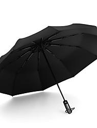 cheap -Ten-bone fully automatic folding umbrella for men and women business umbrella