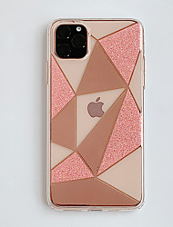 cheap -Case for Apple scene map iPhone 11 11 Pro 11 Pro Max X XS XR XS Max 8 Diamond-shaped glitter pattern inside and outside plating TPU material IMD process all-inclusive mobile phone case