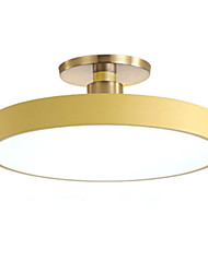 cheap -1-Light Contracted And Contemporary Circular Bedroom Lamp Study Lamp Vogue Corridor Porch Lamp 28W