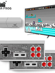 cheap -DATA FROG USB WIRELESS HANDHELD TV VIDEO GAME CONSOLE BUILD IN 600 CLASSIC GAME 8 BIT MINI VIDEO CONSOLE SUPPORT AV/HDMI OUTPUT