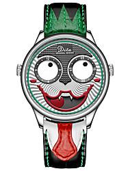 Недорогие -джокер механические часы клоун-лимитированные лимитированная серия большой циферблат водонепроницаемые мужские легкие часы
