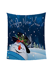 cheap -Christmas Digital Printed Blanket Ready Made Winter Double Warm Shake Blanket Size Customized