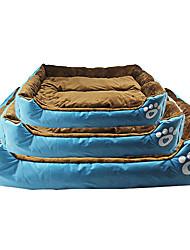 cheap -Mattress Pad Bed Bed Blankets Pet Mats & Pads Fabric Red Orange Blue