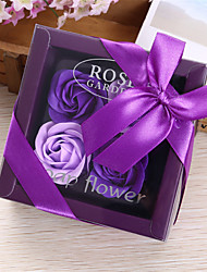 cheap -Valentine's Day gift 4 roses SOAP flower gift box birthday gift Mother's Day gift