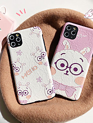 cheap -Case For Apple iPhone 11 / iPhone XR / iPhone 11 Pro Pattern Back Cover Animal PC