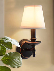 cheap -Traditional / Classic Wall Lamps & Sconces Metal Wall Light 220V / 110V 40 W / E12 / E14