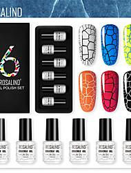 Недорогие -для Быстровысыхающий Стиль Цветной УФ-гель для палец